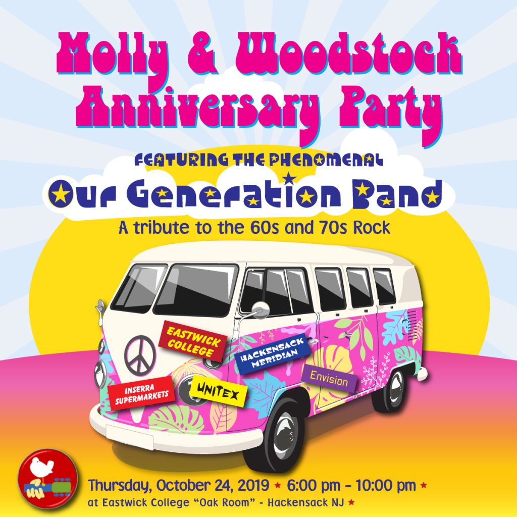 Join us at the Molly & Woodstock Nation Anniversary Party